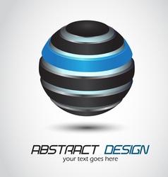 metal sphere vector image