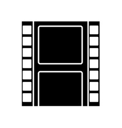 movie reel isolated vector image
