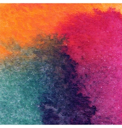 abstract hand drawn watercolor background stain vector image vector image