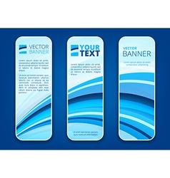 Header or banner set vector image