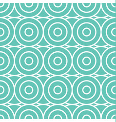 spiral and circles seamless pattern vector image