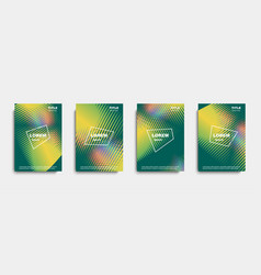 abstract cover design banners vector image