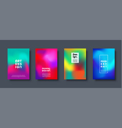 abstract modern design background colorful neon vector image