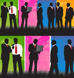 BusinessSet vector image