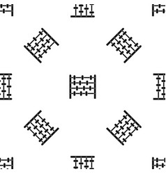children abacus pattern seamless black vector image