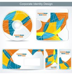 corporate Identity vector image