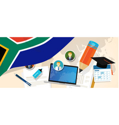 south africa education school university concept vector image
