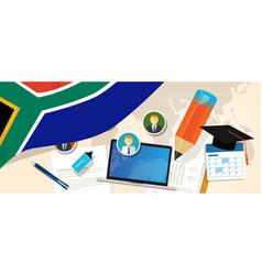 South africa education school university concept vector