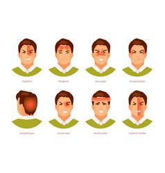 types headache vector image