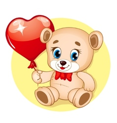 Cute Bear vector image vector image