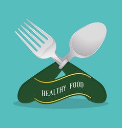 healthy food diet nutrition poster vector image