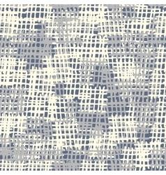 Seamless background pattern Burlap vector image
