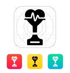 Medicine icon on white background vector image
