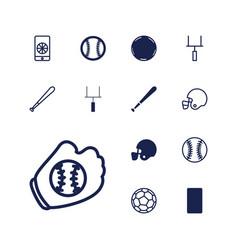 13 league icons vector