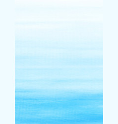 abstract background with blue gradient watercolor vector image