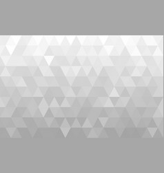 abstract white geometric background vector image