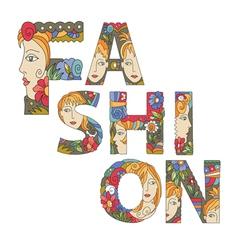 fashion2 vector image