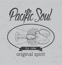 original spirit poster vector image