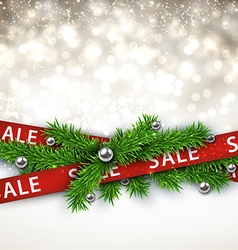 Sale christmas background vector