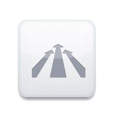White arrow icon Eps10 Easy to edit vector