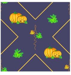 Halloween seamless background vector image vector image