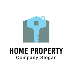 Home Property Design vector image