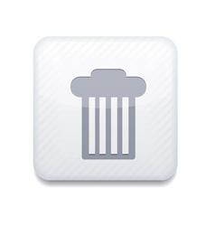 white bin icon Eps10 Easy to edit vector image