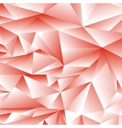 Abstract Red Polygonal Background vector image