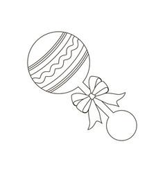 babeanbag vector image