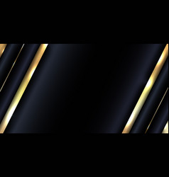 banner web design abstract glowing gold metallic vector image