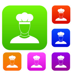 cook set collection vector image