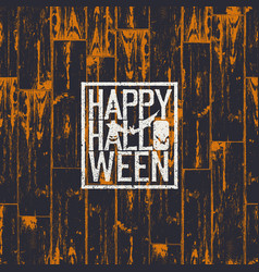 Happy halloween holiday card 31 of october vector