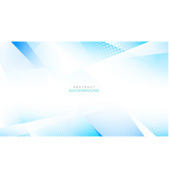 Light blue color polygonal shape background vector
