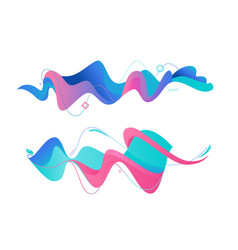 Modern geometric abstract vector