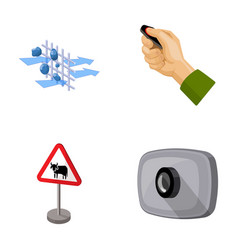Protection tools attributes and other web icon vector
