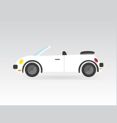 Race sport car transport auto icon vector