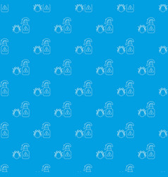 spray pattern seamless blue vector image