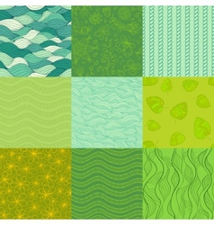 Abstract patterns Collection vector image