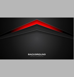 abstract red and black color gradient contrast vector image