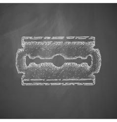Blade razor icon vector
