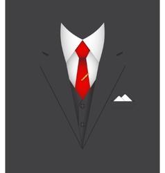 Business suit concept vector