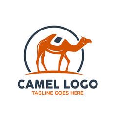 camel logo-4 vector image