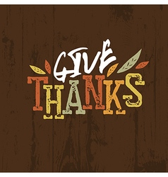 Happy Thanksgiving design For holiday greeting vector