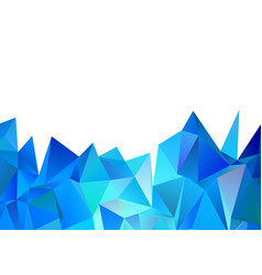 Low poly abstract design vector