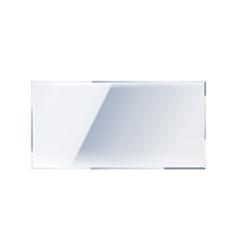 Mirror realistic icon vector