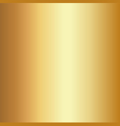 Realistic gold foil texture background yellow vector