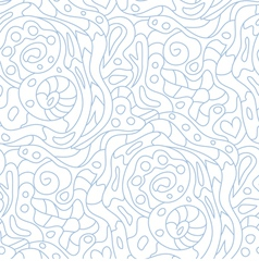 Seamless ornament Abstract background with vector