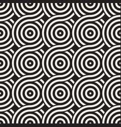 seamless rounded lines texture modern vector image