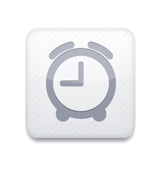 White clock icon Eps10 Easy to edit vector