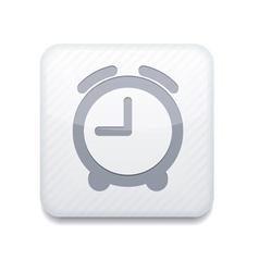 White clock icon eps10 easy to edit vector